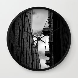 Melbourne Lanes Wall Clock