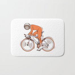 All I wanna do is bicycle Bath Mat
