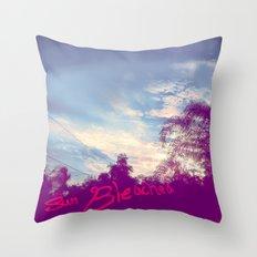 Sun Bleached Throw Pillow