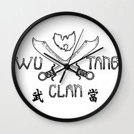 Wu-Tang Wall Clock
