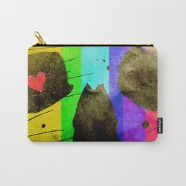 Vintage Colourful Skull Carry-All Pouch