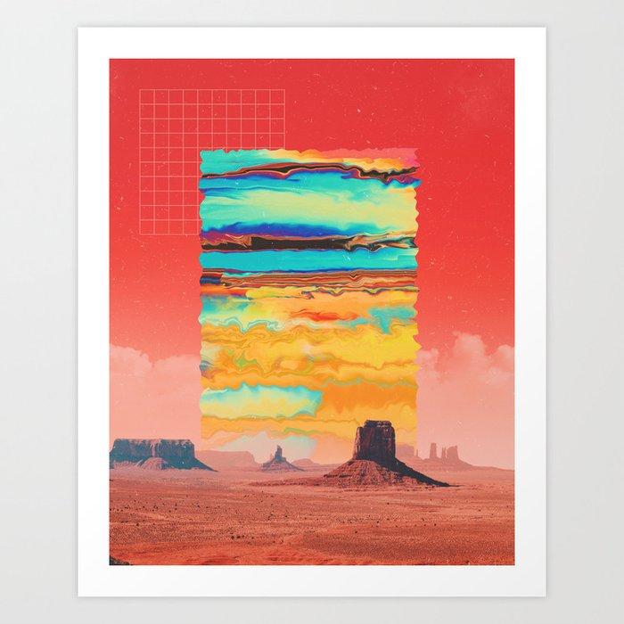 Infinite Canyon Art Print