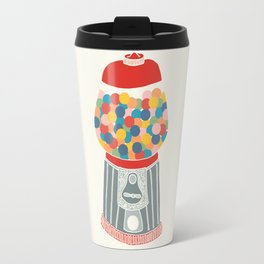 Gum Ball Machine Travel Mug