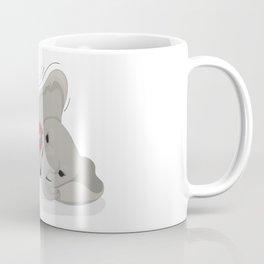 Elephant on skates Coffee Mug