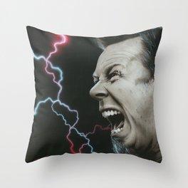 'James Wrath' Throw Pillow