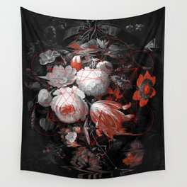 sacred flowers Wall Tapestry