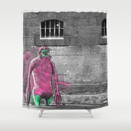 Unseen Monsters of Melbourne - Moose Jaw Mooshabong Shower Curtain