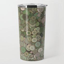 buttons fantasy garden Travel Mug