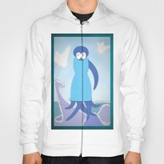 octopus with dress Hoody