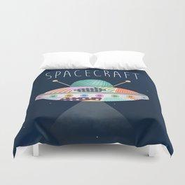 Spacecraft Duvet Cover