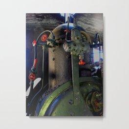 Boiler Metal Print