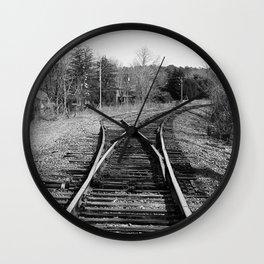 Where Tracks Diverge Wall Clock