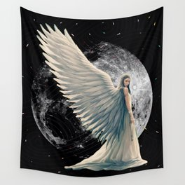 The Moon Angel Wall Tapestry