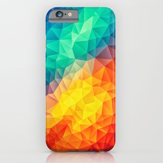 Abstract Multi Color Cubizm Painting iPhone & iPod Case