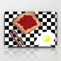 breakfast iPad Cases featuring Breakfast by Sartoris ART