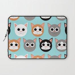 Various Cats Pattern Laptop Sleeve