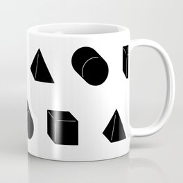Shapes Pattern Coffee Mug