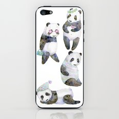 life panda iPhone & iPod Skin