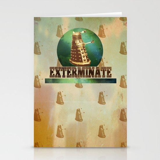 Doctor Who: Dalek Print Stationery Cards