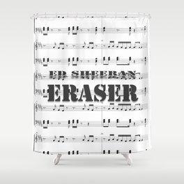 ERASER - Pop Music Shower Curtain