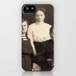 Verschommen iPhone Case