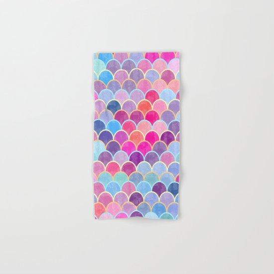 Watercolor Lovely Pattern VIII Hand & Bath Towel