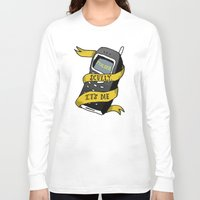 scully Long Sleeve T-shirts featuring Scully, It's Me by Nina Johnson