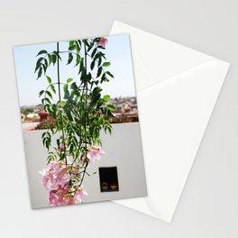 Bougainvillea in Marrakech Stationery Cards