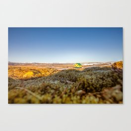 Iceland middle of nowhere Canvas Print