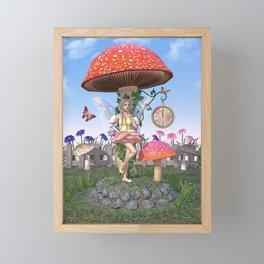Countdown to Summer Framed Mini Art Print