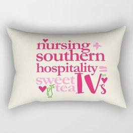 NURSING & SWEET TEA Rectangular Pillow