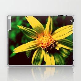 Vintage Yellow Flower Laptop & iPad Skin