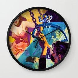 Hugh Joseph Ward - Doll of Death, Spicy Mystery pulp cover - Digital Remastered Edition Wall Clock