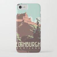 edinburgh iPhone & iPod Cases featuring Edinburgh by bonggg