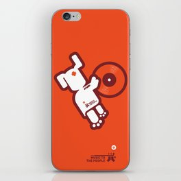 UNDO | Music to the people 03 iPhone Skin