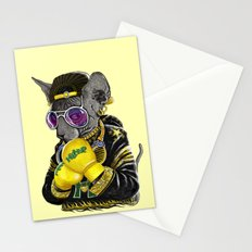 Boxing Cat 3 Stationery Cards