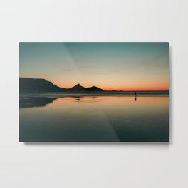 Stillness at Sunset - Cape Town, South Africa Metal Print