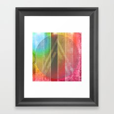 Away Searching For Oceans Framed Art Print