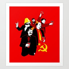 The Communist Party (variant) Art Print