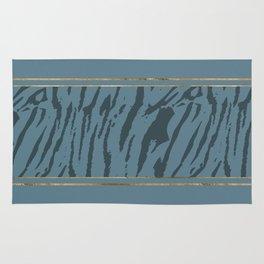 Blueprint and Animal texture 4 Rug