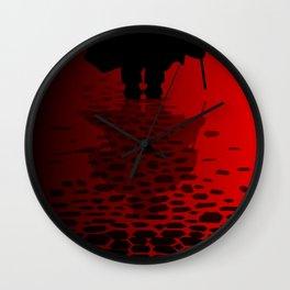 Ripper Reflection Wall Clock