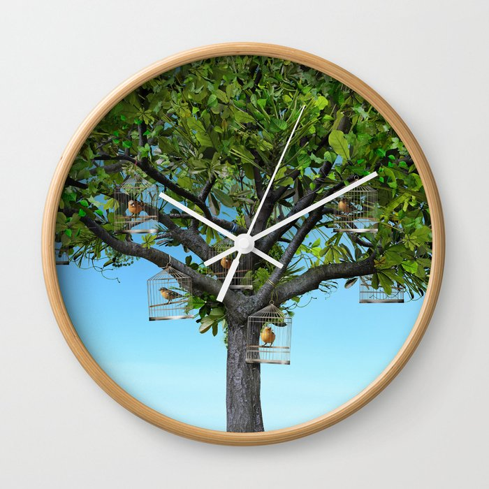 Our Treat Wall Clock