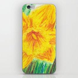 Delightful Daffodils iPhone Skin