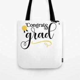 Grads Congrats Grad Tote Bag