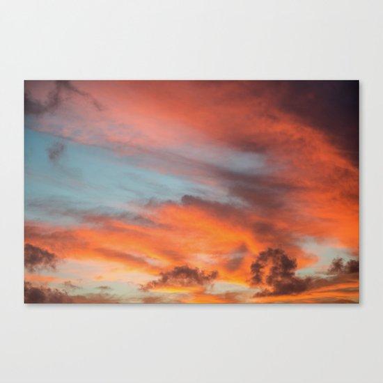 SIMPLY SKY Canvas Print