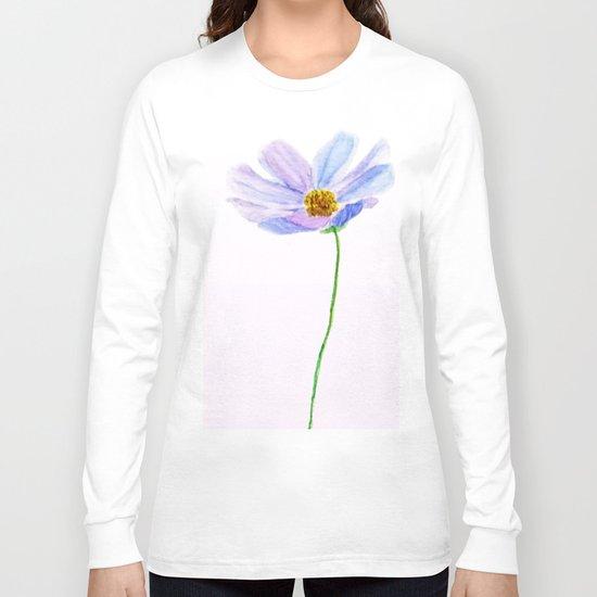 one purple cosmos Long Sleeve T-shirt