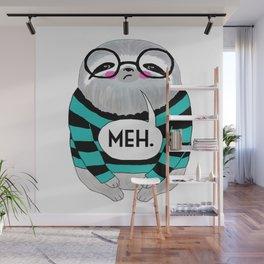 whistleburg - Meh Sloth Wall Mural