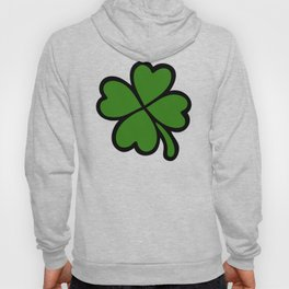 Lucky Four Leaf Clover Pattern Hoody