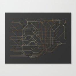 Tokyo Subway Canvas Print