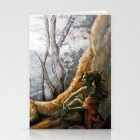 elf Stationery Cards featuring Elf by Cassie's Wonderland